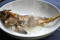 ハチメの骨の味噌汁